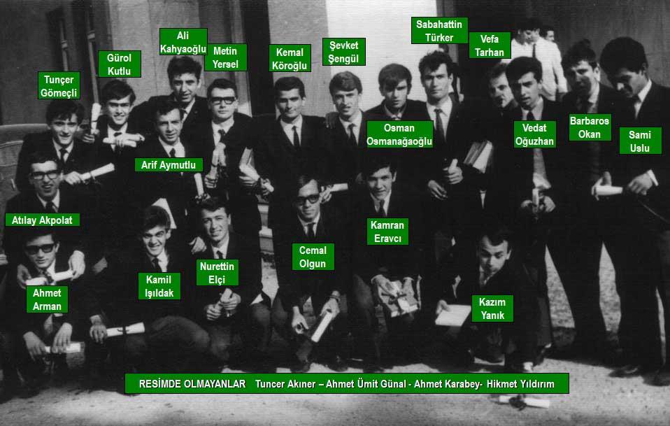 1967 mezunları