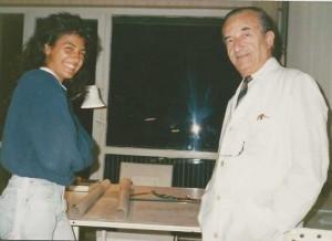 Üniversite 2. sınıftayken Y.Mimar Orhan Çakmakçıoğlu ofisinde çalışmaya başlamıştım (1988)