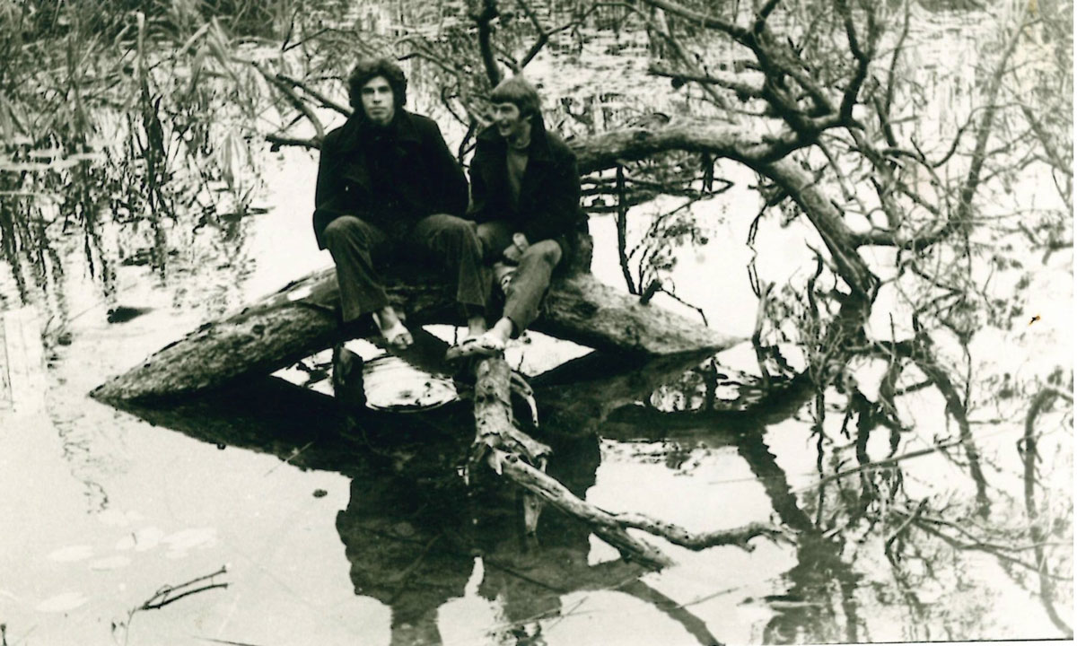 Yıl 1973Abant Gölü, Çeken: Ersin Balkan (73) Eşref Biryıldız, Recep Altay (73)